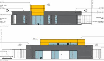Façades architecte maison de santé pluridisciplinaire à Paimpol