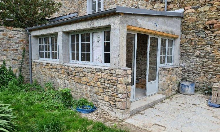 Herry Construction Rénovation de maison ancienne en pierre Paimpol