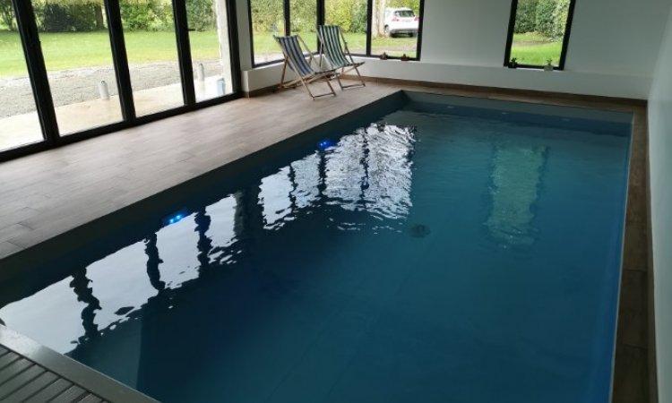 Herry Construction Création de piscine d'intérieur Paimpol