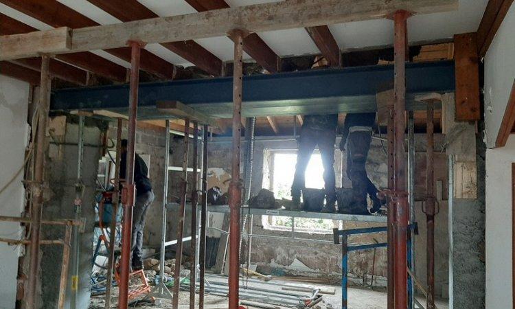 Herry Construction Rénovation intérieure maison ancienne Paimpol