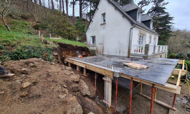 Herry Construction Construction d'extension de maison Paimpol