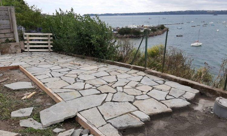 Herry Construction Création de terrasse Paimpol